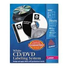 avery template 8965 new avery 8965 cd dvd design kit matte white 40 inkjet labels and