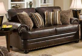 Living Room Furniture Leather And Upholstery Simmons Upholstery 7531 Miracle Bonded Leather Living Room Set By
