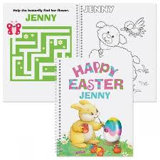 Personalized Easter Coloring Activity Book Current Catalog