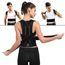 Comfortable Back Brace Posture Corrector for Men and Women Adjustable Support Provides Lumbar M - Walmart.com