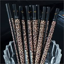 office leopard print. Leopard Print Creative Writing Tool 0.38mm Neutral Gel Pen Office School Supply Stationery Pens P