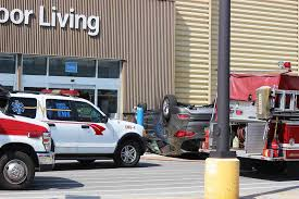 walmart sandusky ohio norwalk reflector video of walmart car accident reveals how close