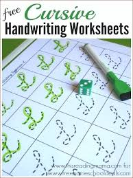 Free Cursive Handwriting Generator Free Cursive Handwriting