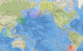 Earthquakes in California, United States
