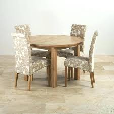 4 chair dining set 4 chairs dining table sets natural oak dining set round extending table
