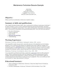 Industrial Maintenance Mechanic Sample Resume maintenance mechanic resume objective megakravmaga 51