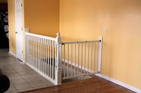 Gate For Stairs Baby Gate For Stairs With Banister Stair Constructions