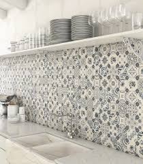 view in gallery white blue patchwork backsplash world parks vives jpg