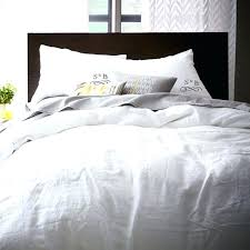 white duvet cover queen pottery barn flax linen shams west elm o set sets full white comforter sets