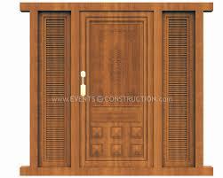 evens construction pvt ltd wooden main door design