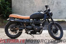 steps to create your own beckham triumph scrambler