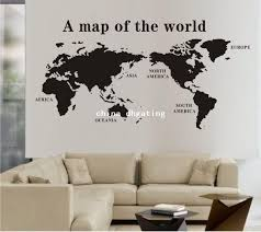 office wall decor. Office Wall Decor. Image Of: Decals Map Decor