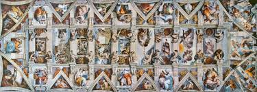 any photo to see the full resolution sistine chapel ceiling