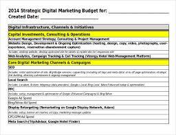 17 Digital Marketing Strategy Templates Free Sample