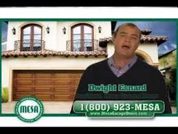 mesa garage doorsMESA Garage Door Commercial  YouTube