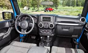 2014 jeep rubicon interior. jeep interior by car and driver 2014 wrangler rubicon
