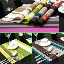 place mats for dining table whole dining tables place mats pad tableware utensil restaurant table cloth place mats for dining table