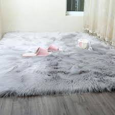 faux fur rug whole faux sheepskin rugs from china intended for area rug faux fur rug