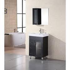24 x 18 vanity. Interesting Vanity Get Quotations  Design Element DEC022 Milan 24 Free Standing Vanity Set  With Cabinet Top In X 18 C