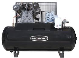 120 gallon 2 stage cast iron industrial air compressor