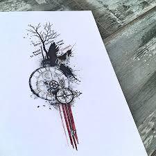 треш полька эскизы на предплечье треш полька эскизы татуировок