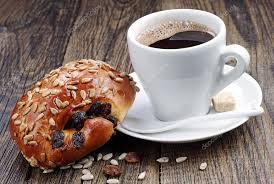 Resultado de imagen de cafe con pan