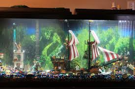 Small Picture Fish Tank Pirate Lego Fishank In My Home Decor Pinterest