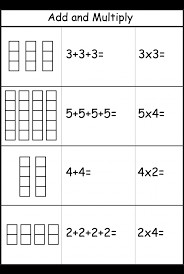 Multiplication – Add and Multiply – Repeated Addition -Two ...
