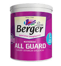 Par Paint Colour Chart Berger Weathercoat All Guard Paint For Walls Exterior