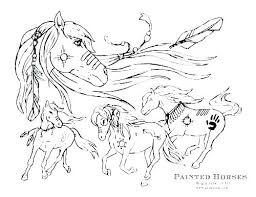 Baby Horse Coloring Pictures Pages Easy Cartoon Kids Cute Picture Of