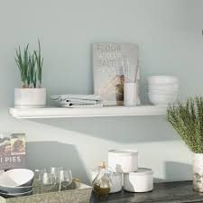 Where To Buy Floating Wall Shelves Amazing 32 Inch Floating Wall Shelf Wayfair