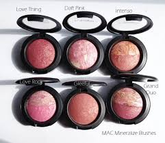 makeup artists peach melba blush m a c mineralize blushes 39 love thing 39 39 daft pink 39