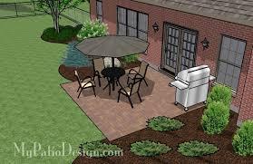 square patio designs. Basic Square Patio. Ordering Patio Designs A