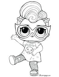 Lol Doll Coloring Pages Together With Doll Coloring Pages Online