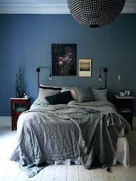 dark grey bedspread bedding for gray walls bedroom blue walls grey bedspread black spherical light fitting