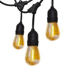 Shatterproof Patio Lights Details About Superdanny 52ft Shatterproof Led Outdoor String Lights Ul Approval Commercial