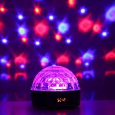 led crystal magic disco ball stage light with special effects lighting