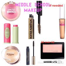 middle makeup