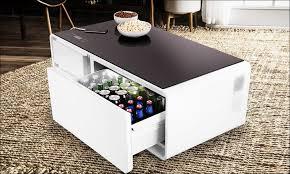 coffee table mini fridge
