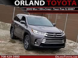New Toyota Highlander near Chicago Tinley Park IL