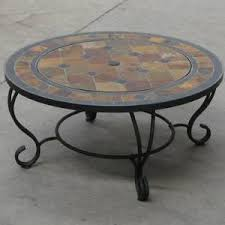 java mosaic firepits garden table