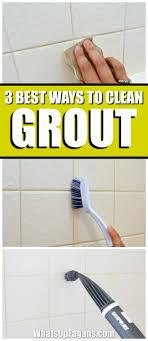 25+ unique Clean grout ideas on Pinterest   Grout cleaner, Tile grout  cleaner and Shower grout cleaner