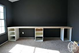 ikea hack computer desk how to make hack desk with plank top file cabinets instead would ikea hack computer desk