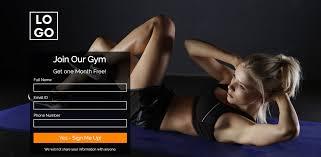 Gym Membership Landing Page Theme