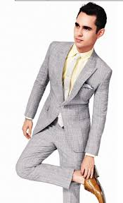 Light Grey Pinstripe Suit Combinations Gq Summer Style Light Gray Suit With Yellow Button Up