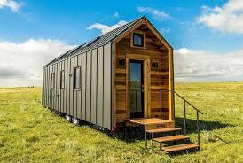 tumbleweed tiny house company.  Tiny Wood And Metal Exterior  Farallon By Tumbleweed Tiny House Company And N
