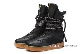 Nike Special Field Boot Size Chart Nike Sf Air Force 1 Hi Boot Black Gum Medium Brown Aa3965 001 Super Deals