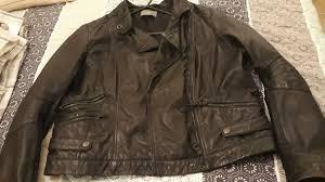 women s leather jacket size 16