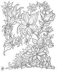 Floral Fantasy Digital Version Adult Coloring Book Adult Coloring