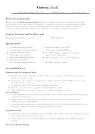Examples Of Nursing Resume New Nurse Resume Examples Of Nursing ...